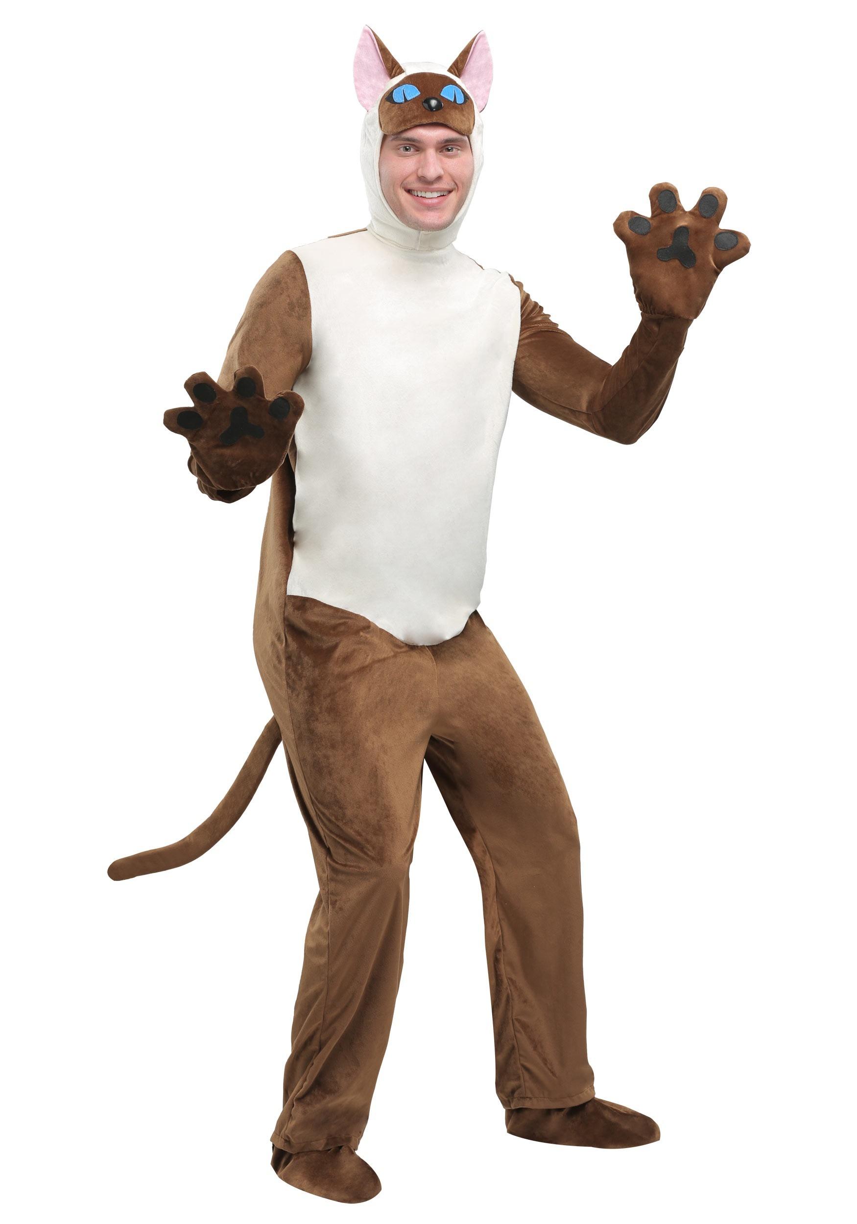 Adult Siamese Cat  sc 1 st  Halloween Costumes & Cat Costumes for Kids and Adults - HalloweenCostumes.com