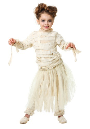 Toddler Girl's Mummy Costume – Size: 2T – Polyester