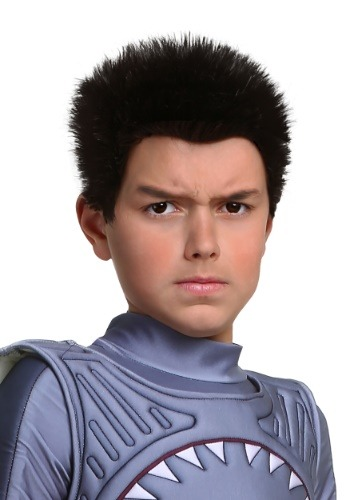 Click Here to buy Sharkboy Wig for Kids from HalloweenCostumes, CDN Funds