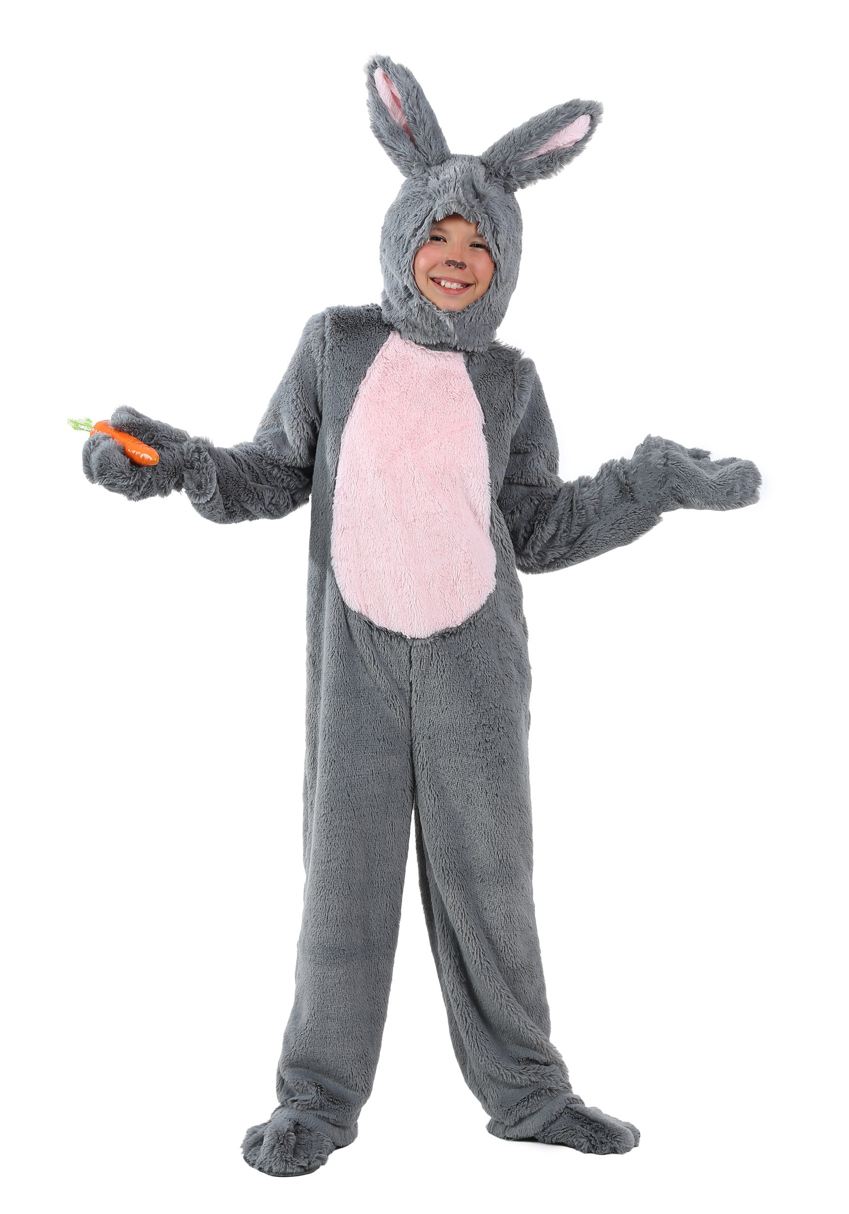 Animal costumes for adults kids halloweencostumes child grey bunny costume solutioingenieria Image collections