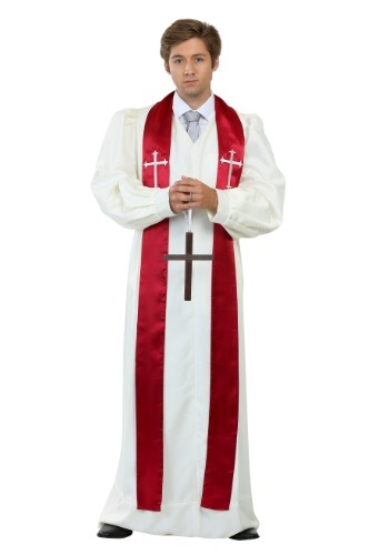 Adult Priest Robe Costume