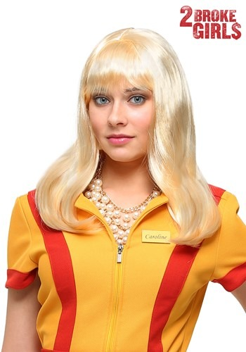 Women's Caroline Wig from 2 Broke Girls