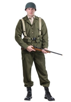 Deluxe WW2 Soldier Costume