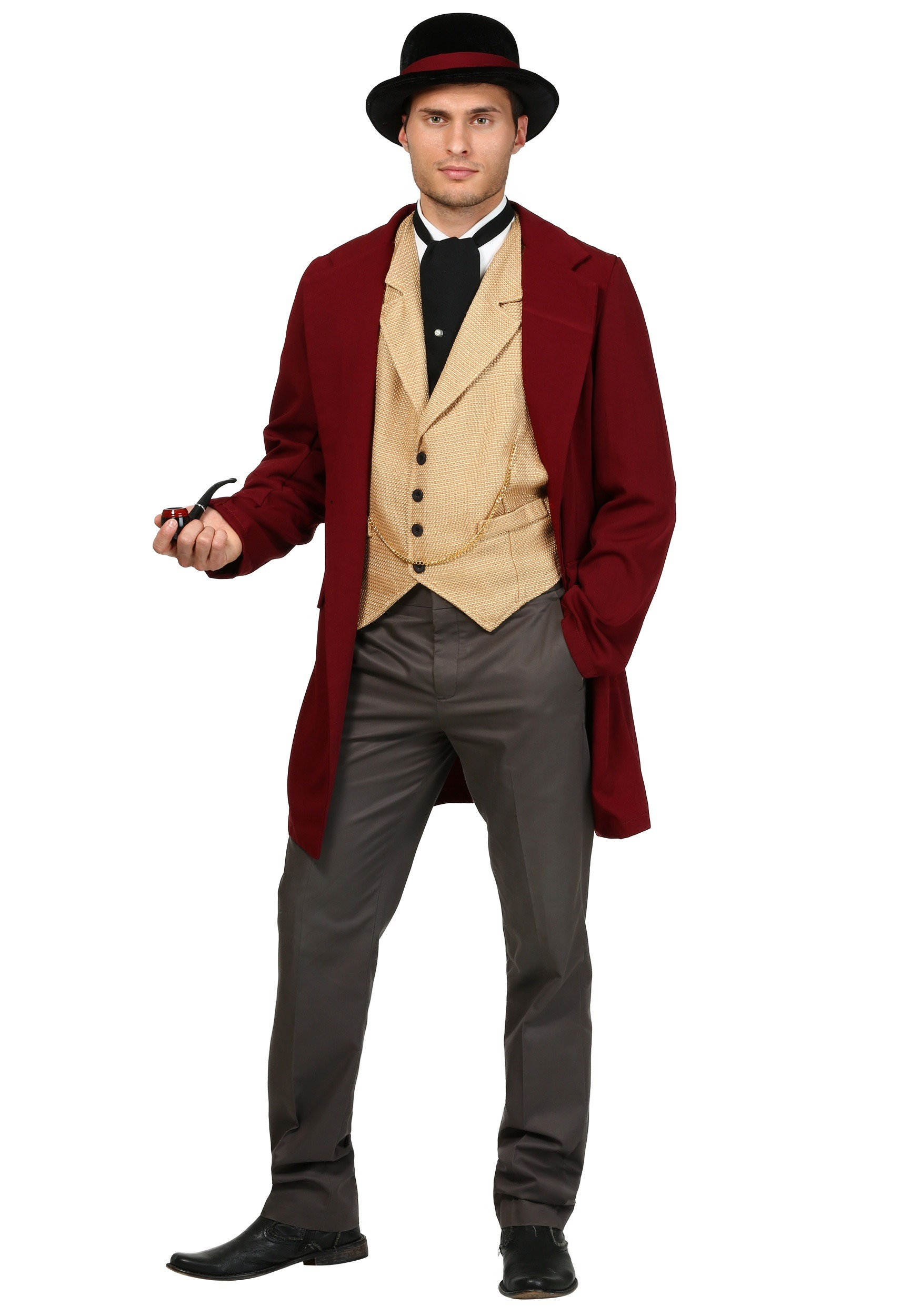 Adult Riverboat Gambler Costume  sc 1 st  Halloween Costumes : wild west costumes for men  - Germanpascual.Com