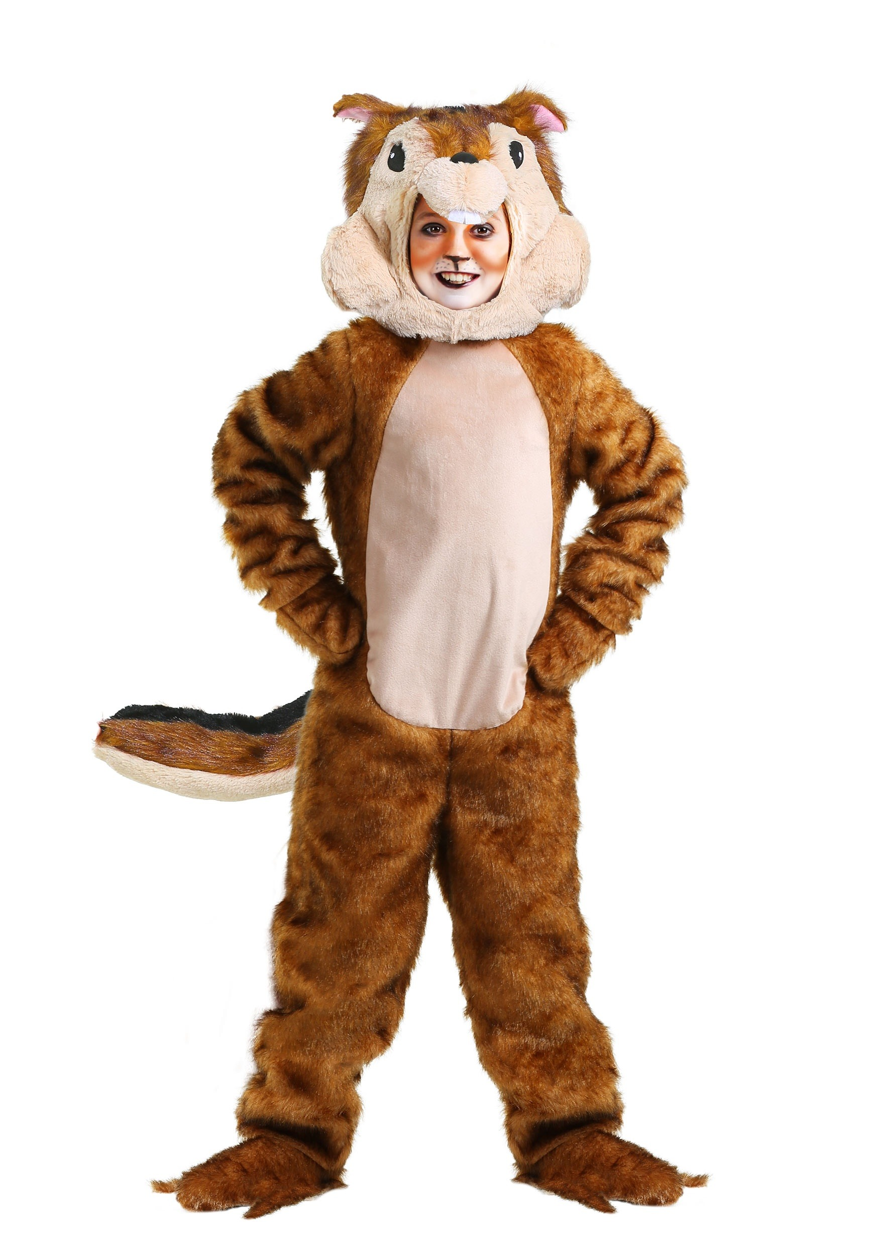 Chipmunk Costume For Children-9537