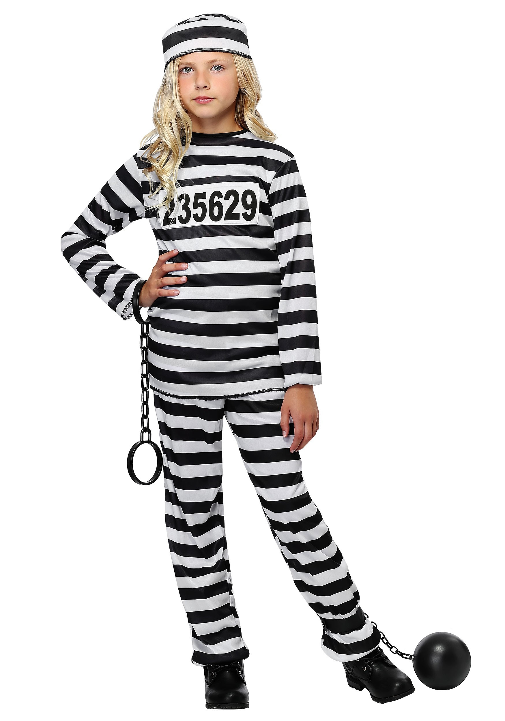 sc 1 st  Halloween Costumes & Girlu0027s Prisoner Costume