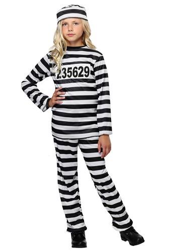 Girl's Prisoner Costume FUN2105CH-L