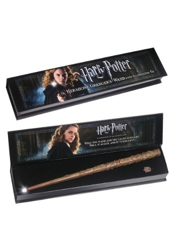 Click Here to buy Hermione Granger Illuminating Wand from HalloweenCostumes, USA Funds & Shipping