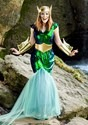 Women's Sea Siren Plus Size Costume3