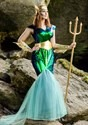 Women's Sea Siren Plus Size Costume4