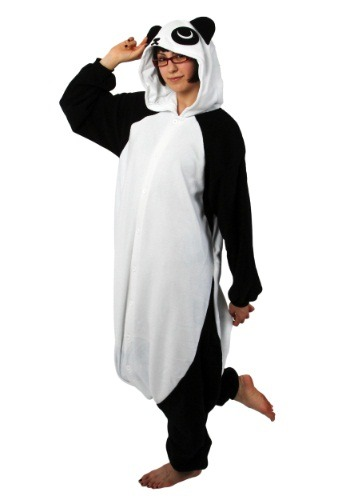 Click Here to buy Panda Kigurumi from HalloweenCostumes, USA Funds & Shipping