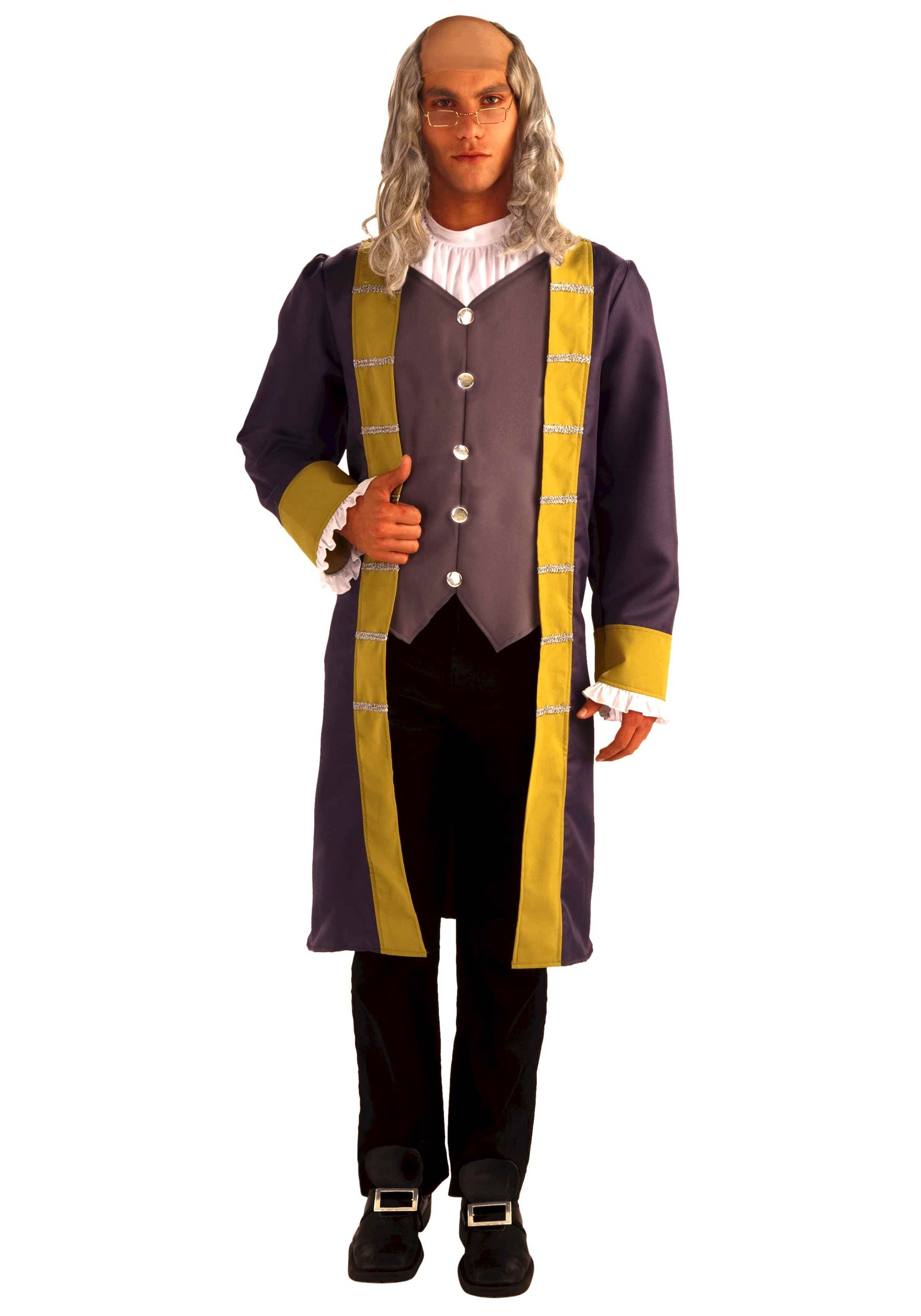 sc 1 st  Halloween Costumes & Adult Benjamin Franklin Costume