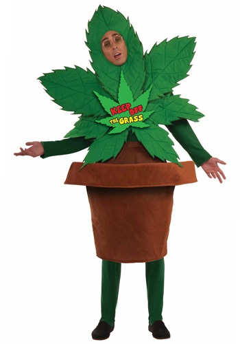Click Here to buy Keep Off The Grass Costume from HalloweenCostumes, USA Funds & Shipping