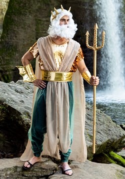 Poseidon Plus Size Men's Costume1