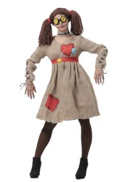 Burlap Voodoo Doll Womens Costume