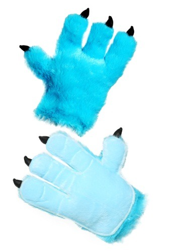 Click Here to buy Adult Blue Monster Hands from HalloweenCostumes, USA Funds & Shipping