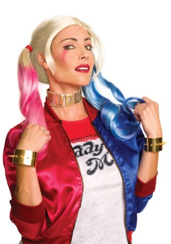 Click Here to buy Suicide Squad Harley Quinn Jewelry Set from HalloweenCostumes, USA Funds & Shipping
