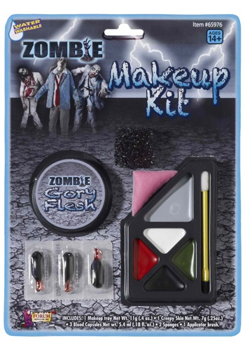 Gory Zombie Makeup Kit By: Forum Novelties, Inc for the 2015 Costume season.