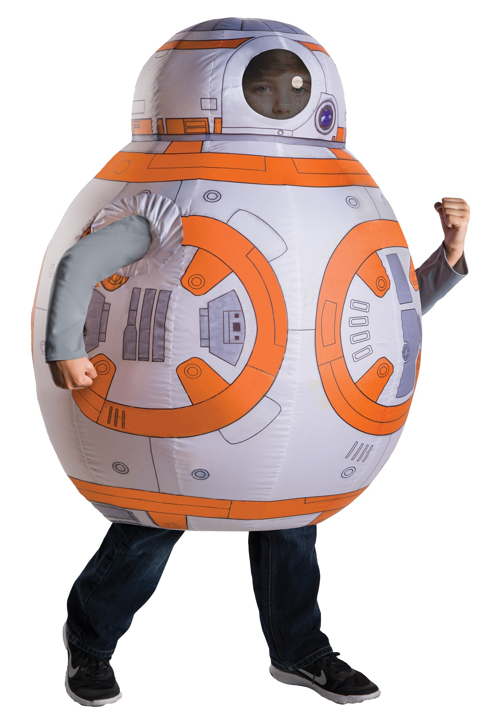 sc 1 st  Halloween Costumes & Star Wars Child Inflatable BB-8 Costume