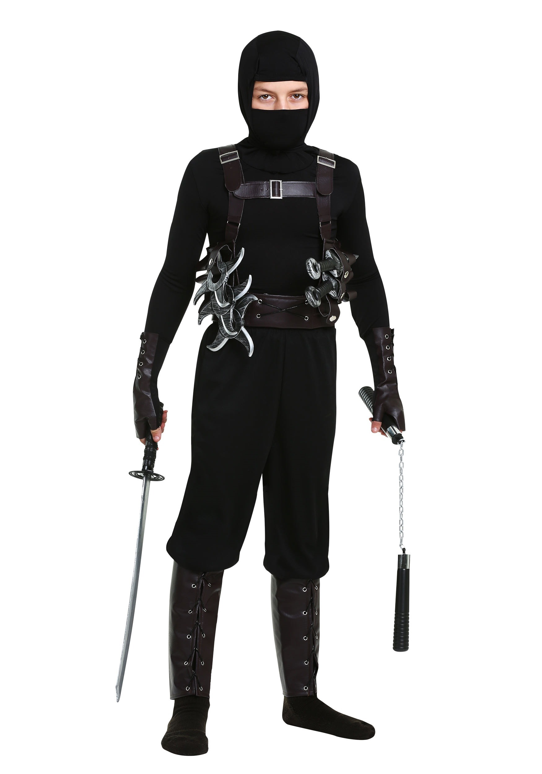 Ninja Assassin Boys Costume  sc 1 st  Halloween Costumes & Ninja Assassin Costume for Boys