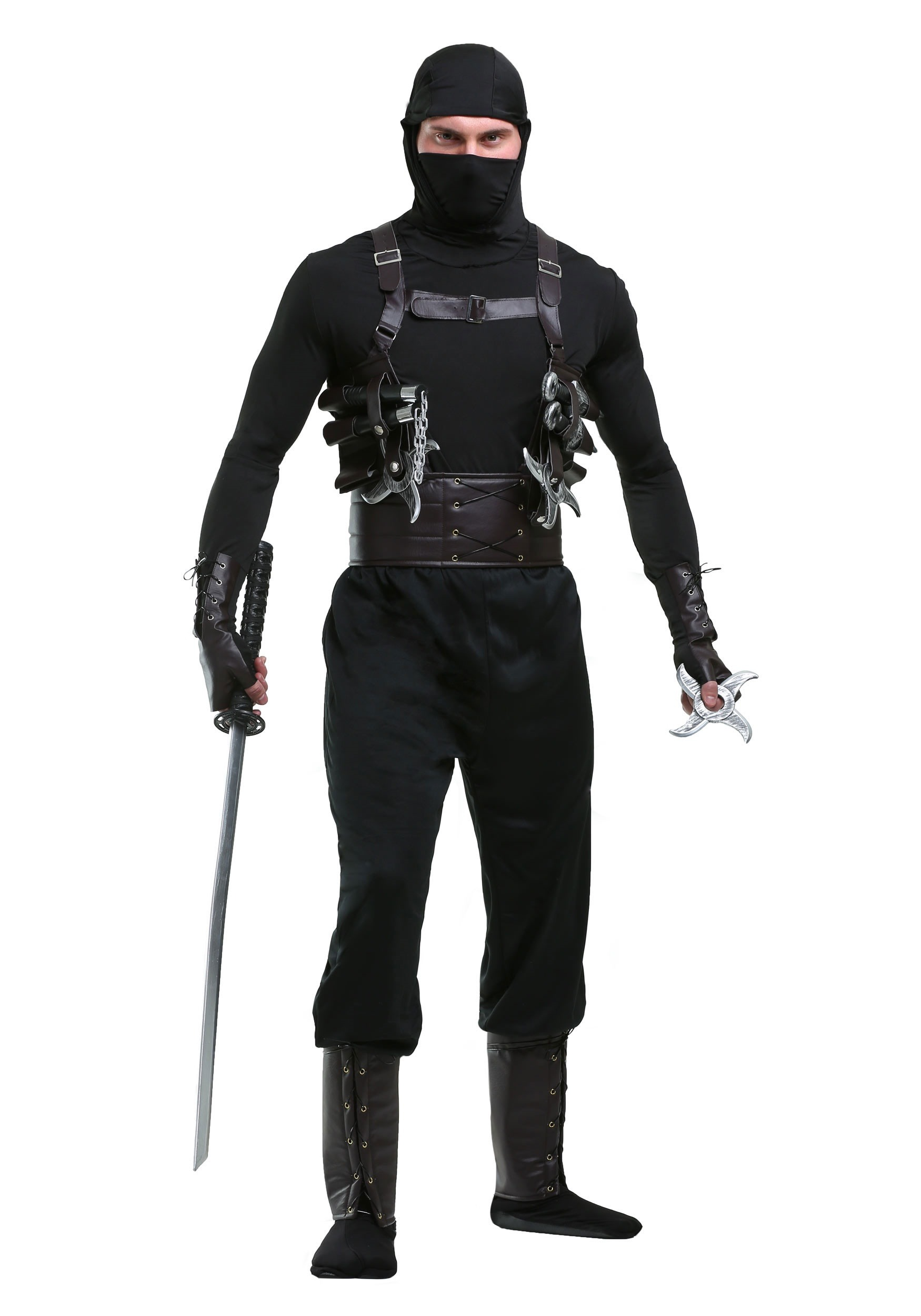ninja assassin mens costume