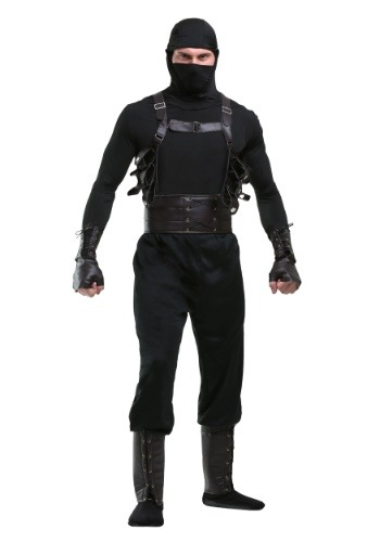 Click Here to buy Ninja Assassin Mens Costume from HalloweenCostumes, USA Funds & Shipping
