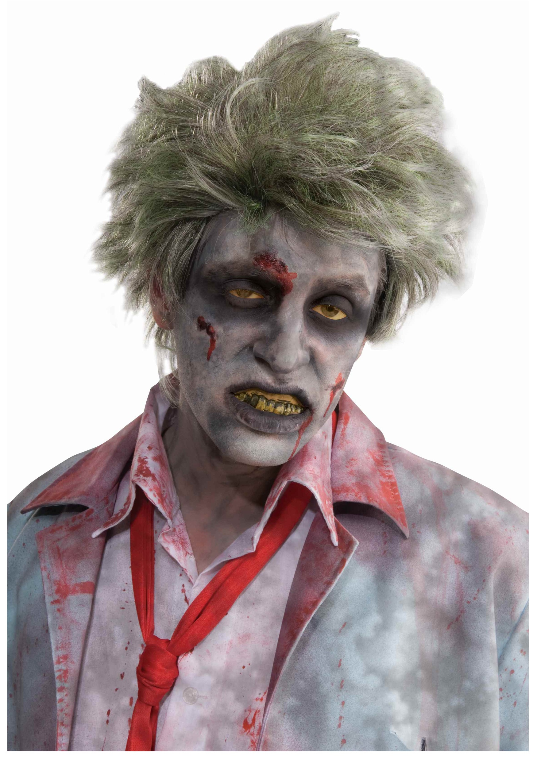 grave zombie wig. Black Bedroom Furniture Sets. Home Design Ideas