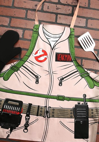 Image of Ghostbusters Peter Venkman Uniform Apron