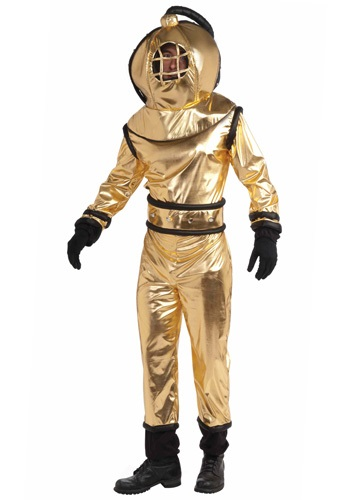 Image of Adult Deep Sea Diver Costume