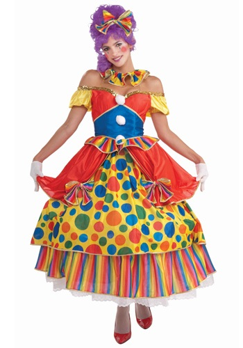 Click Here to buy Big Top Belle Clown Costume from HalloweenCostumes, USA Funds & Shipping