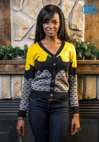 Click Here to buy Batman Womens Cardigan from HalloweenCostumes