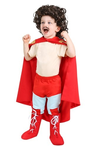Click Here to buy Nacho Libre Costume for Toddlers from HalloweenCostumes, USA Funds & Shipping
