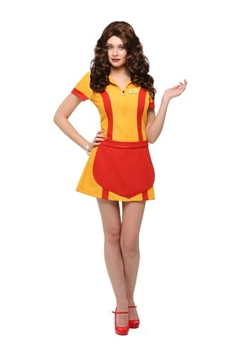 Image of 2 Broke Girls Plus Size Waitress Costume