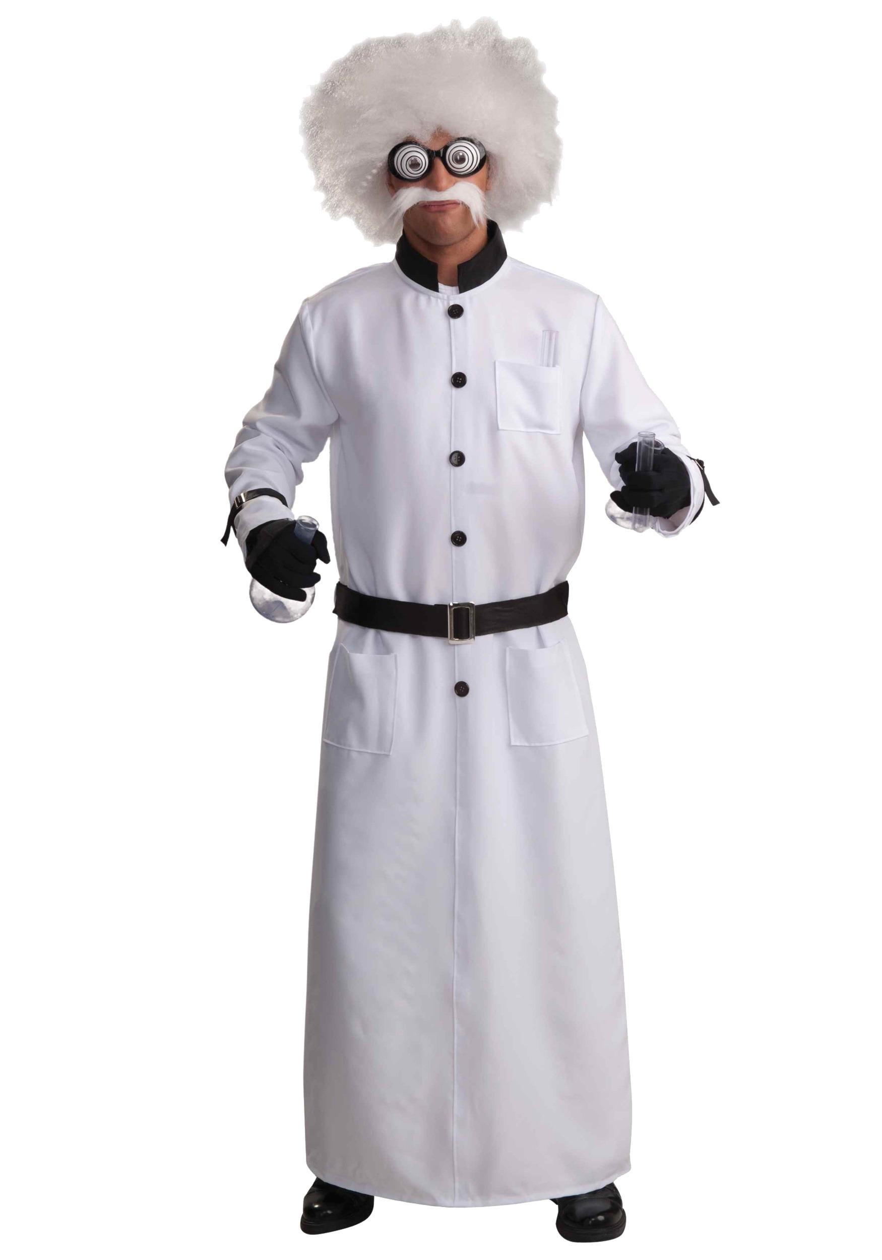Mad Scientist Lab Coat Costume Mad Scientist Costume