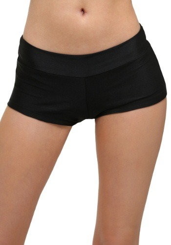 Click Here to buy Deluxe Black Hot Pants from HalloweenCostumes, USA Funds & Shipping