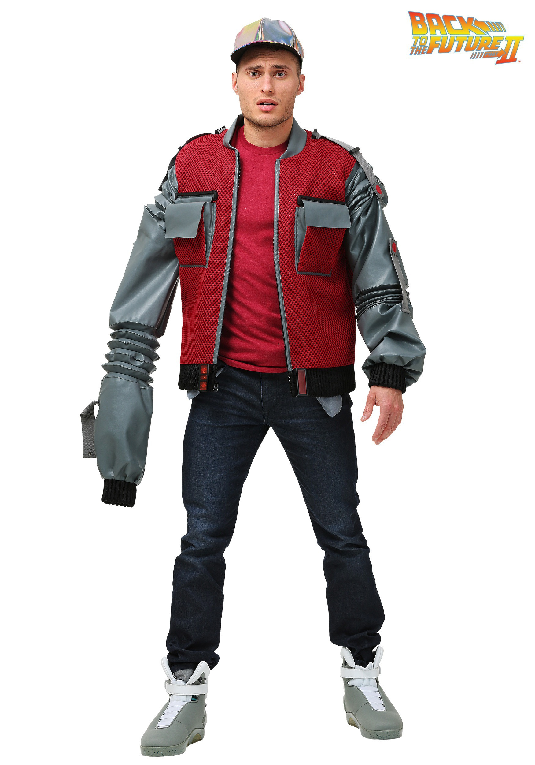 Men S Plus Size Authentic Marty Mcfly Jacket