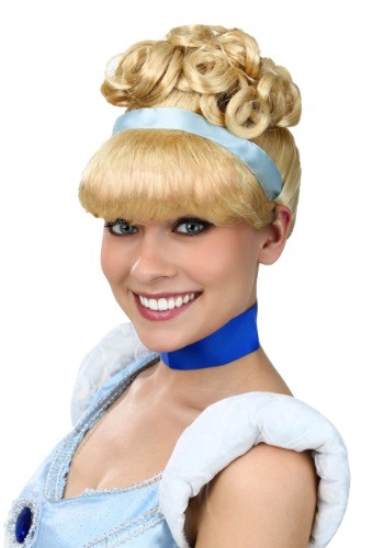 Click Here to buy Womens Cinderella Wig from HalloweenCostumes, USA Funds & Shipping