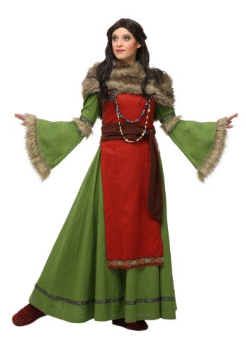 Click Here to buy Womens Peasant Viking Costume from HalloweenCostumes, CDN Funds