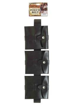Steampunk Pouch Belt