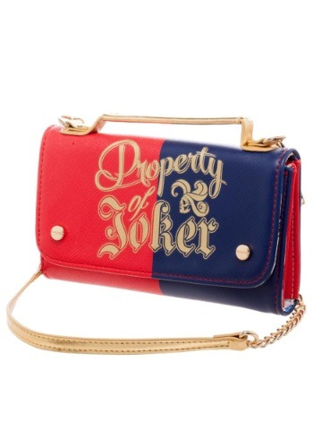 Property of Joker Women's Chain Purse