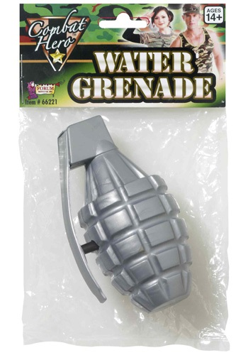 Combat Hero Grenade By: Forum Novelties, Inc for the 2015 Costume season.