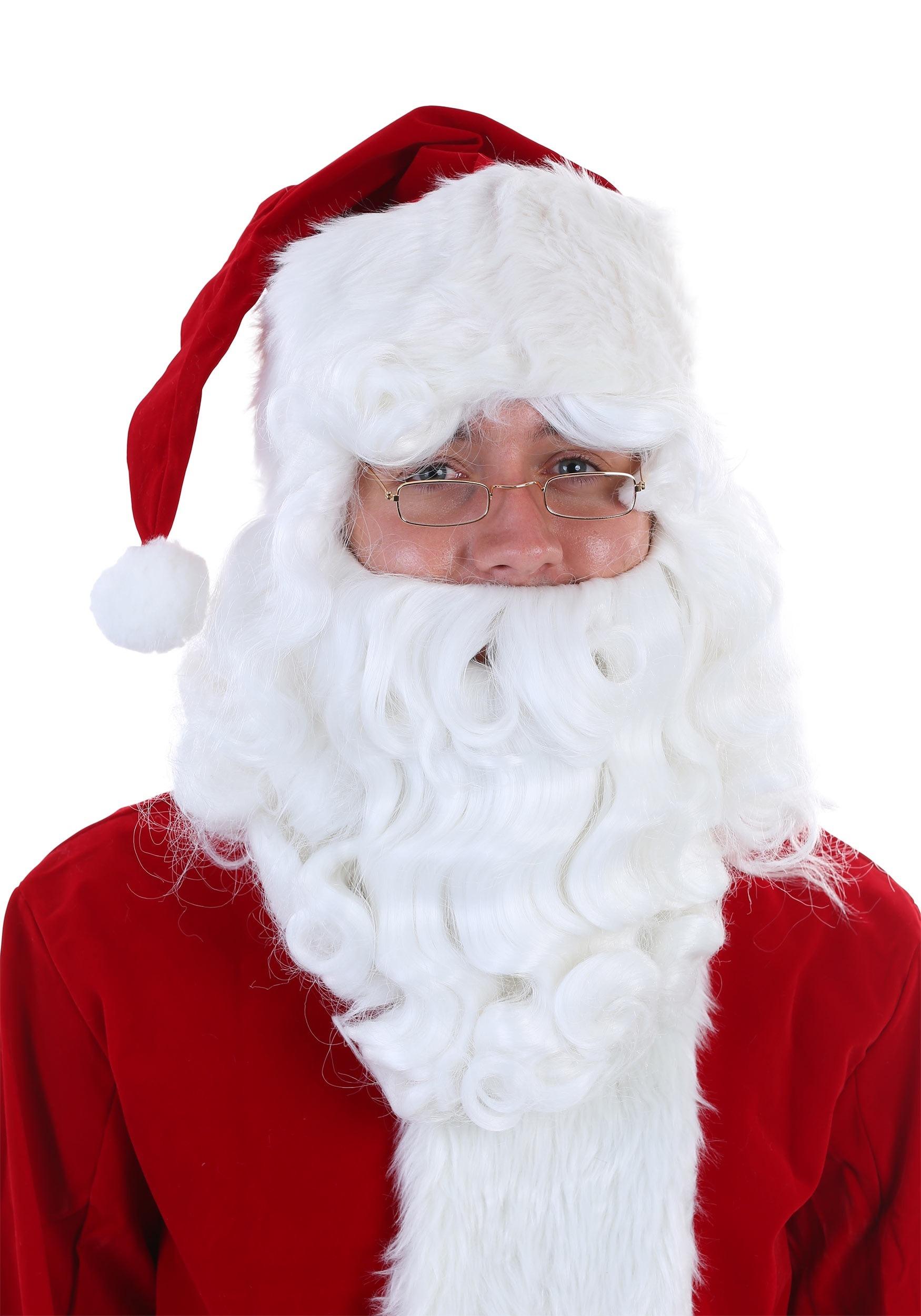Santa Claus Wig and Beard Set Fever Quality