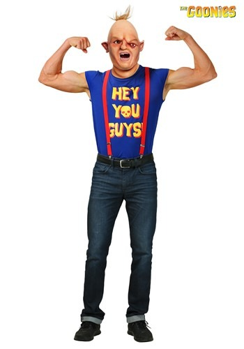 The Goonies Mens Plus Size Sloth Costume