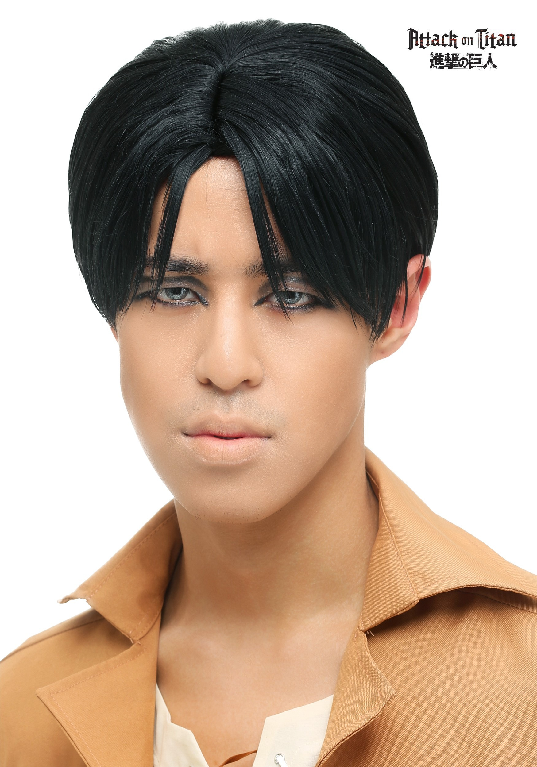 Attack On Titan Levi Wig For Men