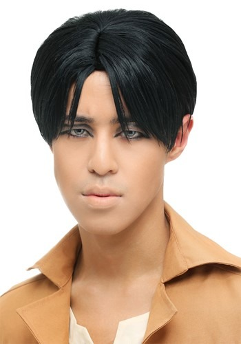Image of Attack on Titan Levi Wig for Men