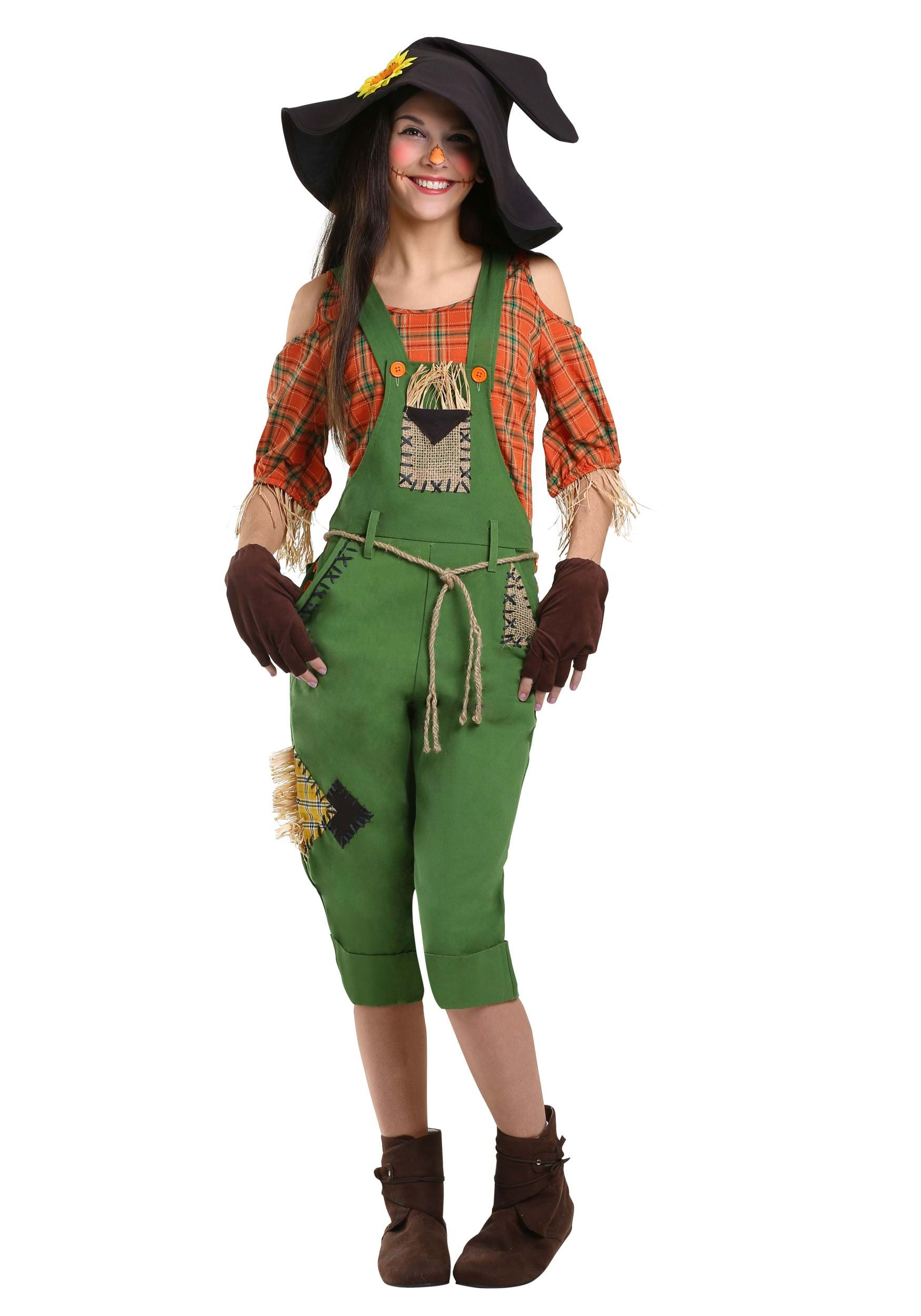 Scarecrow Womens Costume  sc 1 st  Halloween Costumes & Wonderful Wizard of Oz Costumes - HalloweenCostumes.com