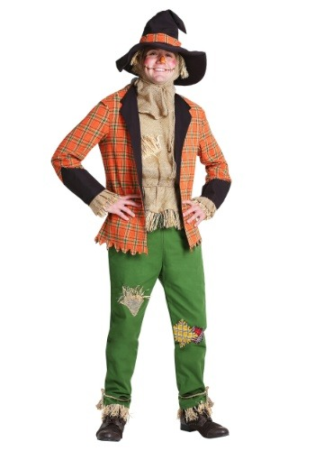 Click Here to buy Scarecrow Mens Costume from HalloweenCostumes, USA Funds & Shipping