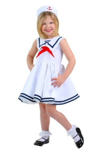 Click Here to buy Sailor Toddler Girls Costume from HalloweenCostumes, CDN Funds
