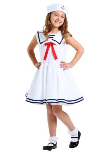 Sailor Costume for Girls FUN0243CH-L