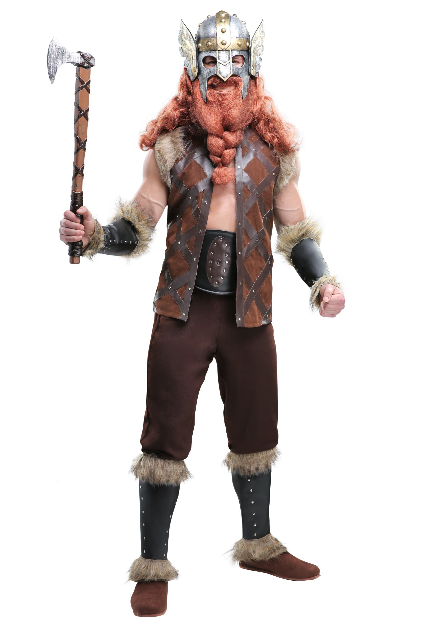 Viking Barbarian Mens Costume  sc 1 st  Halloween Costumes : halloween costume viking  - Germanpascual.Com